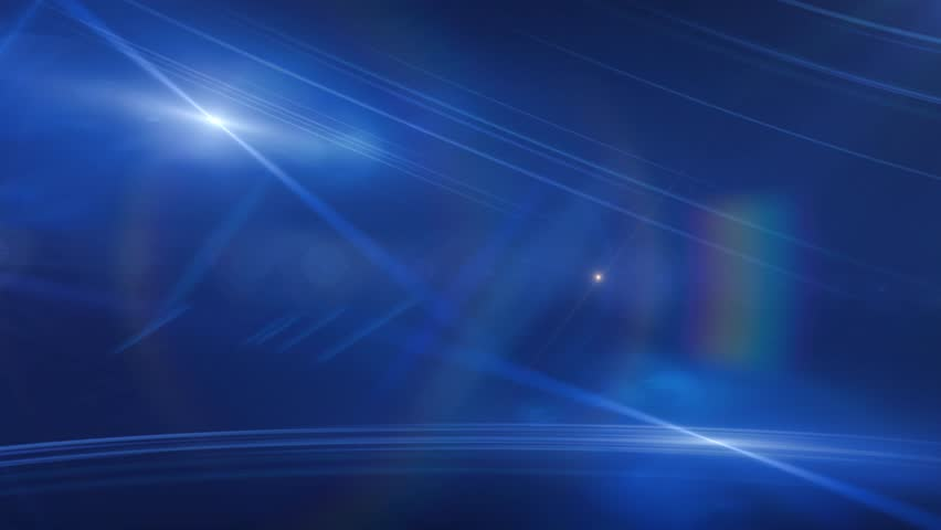 Blue Lens Flares Abstract Motion Background | Shutterstock HD Video #7125223