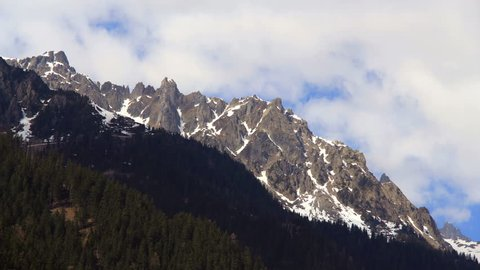 Mont Blanc moutains timelapse. Find similar clips in our portfolio.