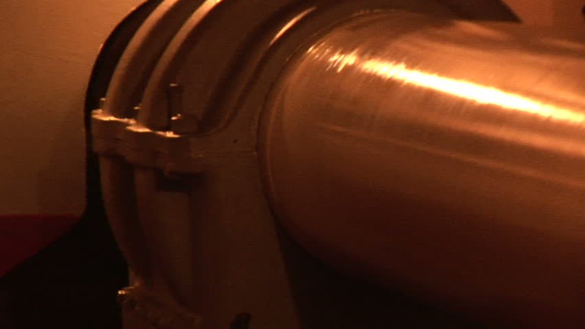 Propeller shaft turning