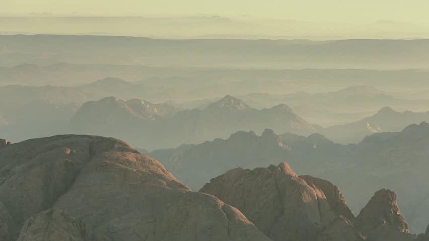 Sinai Mountains sunrise - Egypt