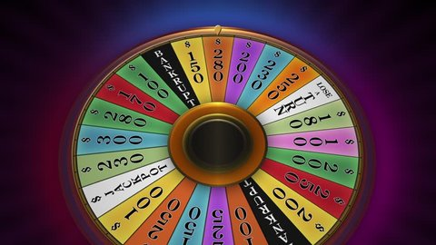 A lucky spin that wins the jackpot prize. Very ideal for productions that shows luck, fortune, bargain, sale or discount.
