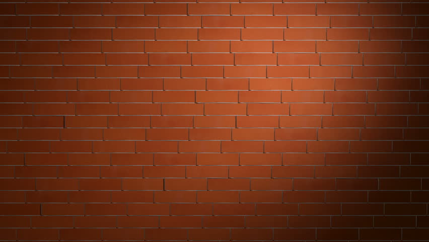 Brick Wall Background Stock Video Footage