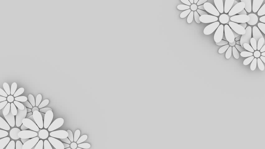 Wedding Background Texture Footage Page 3: Wedding Floral Background With Place Stock Footage Video