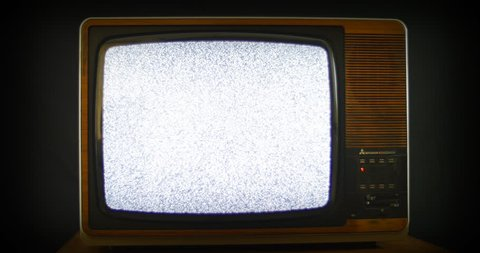 New start in TV history. 76 years of television history came to an end at midnight on Wednesday 24 October 2012 when the analogue TV signal was switched off. (UK, July 2014)