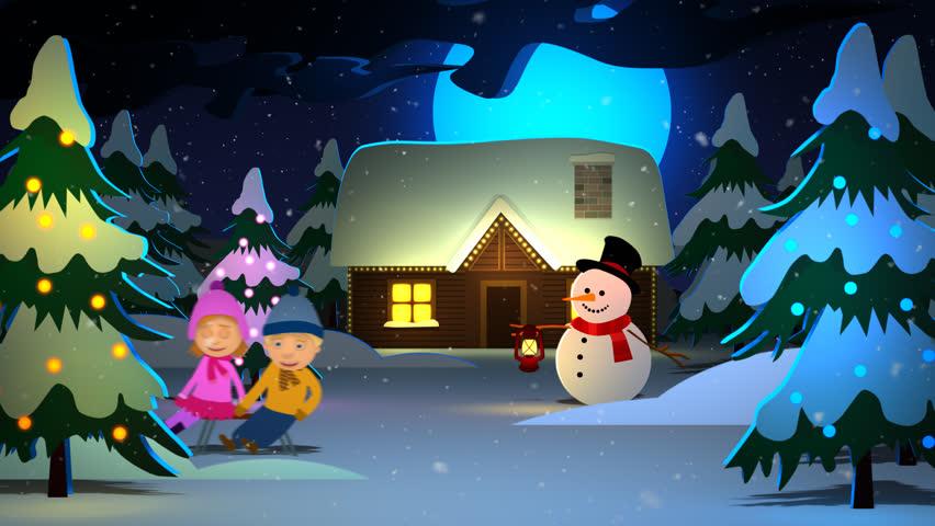 01741 kids enjoying with santa stock footage video 100 royalty free 7459213 shutterstock