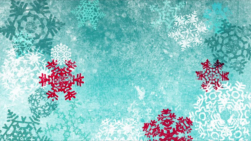 Grunge Textured Christmas Snowflakes Background Stock Footage Video 100 Royalty Free 7517203 Shutterstock