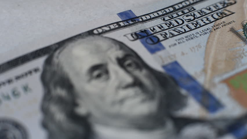 Banknote of hundred dollars   Shutterstock HD Video #7622773