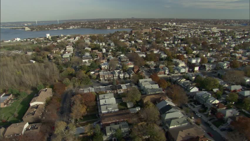 Aerial of Queens, New York. | Shutterstock HD Video #7753153