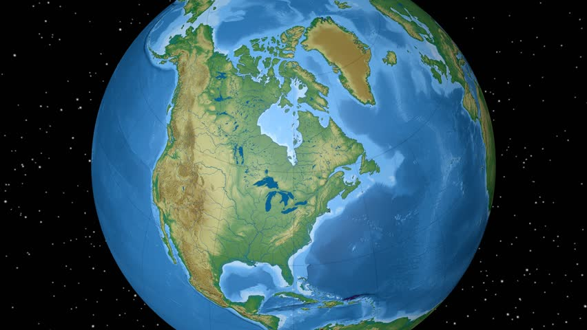 4k argentina earth zoom in 3d animation with matte layers included physical world globe north america outlined on black high resolution elevation gumiabroncs Image collections