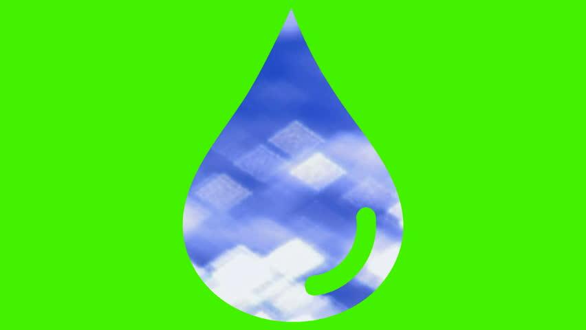Raindrop light particles V2 - HD