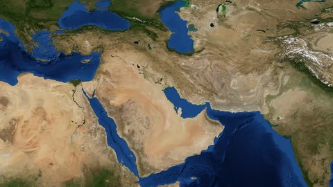 Middle East 4K- Pan The Middle East is a region that roughly encompasses a majority of Western Asia and Egypt. Video composite from NASA source images.