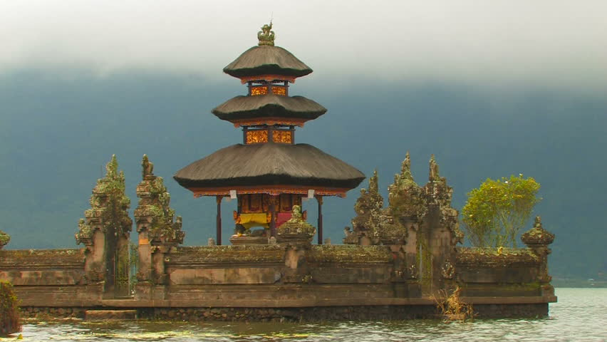 Water shrine, Pura Tirta Empul Temple, Bali.