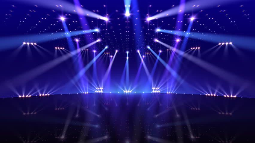 Stage Light 2 Stock Footage Video 100 Royalty Free