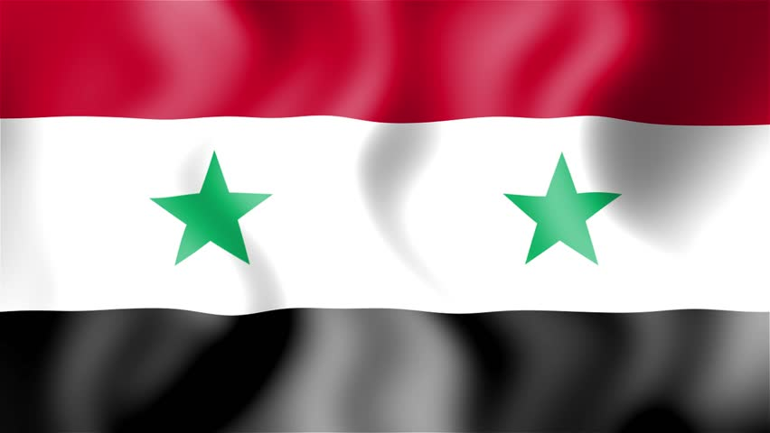 HD Waving Flag Syria Stock Footage Video Shutterstock - Syria flag