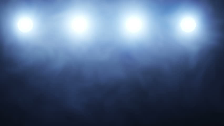 Stage Lights Background Loop Animation Stock Footage Video