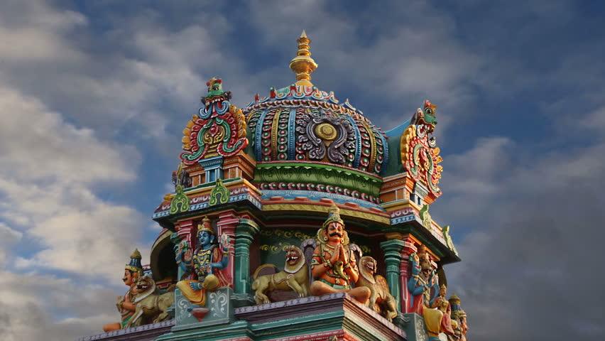 Traditional Hindu Temple, South India, Stockbeeldmateriaal en -video's  (100% rechtenvrij) 8398093   Shutterstock
