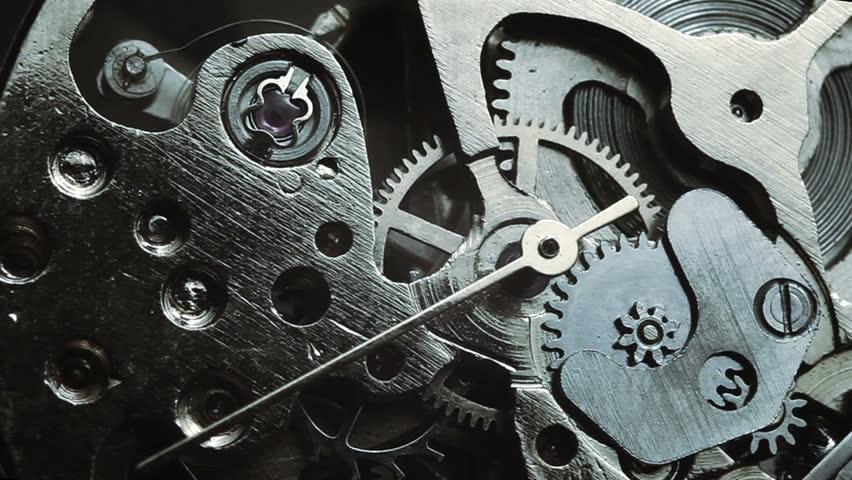 Watch mechanism macro | Shutterstock HD Video #8398537