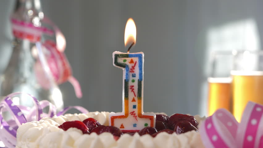 Birthday Candle Numbers Stock Video Footage