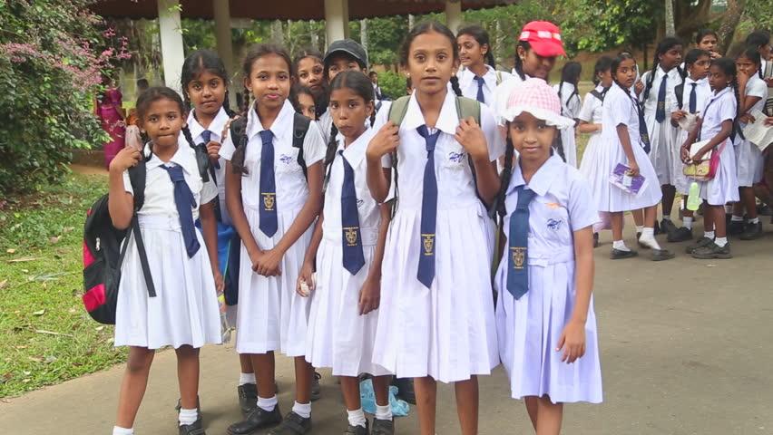 Sri Lanka Teen In School Uniform - Xxx Photo-6537