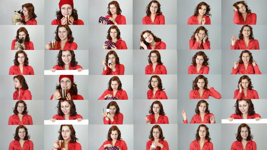 Set - girl in red dress | Shutterstock HD Video #8477773