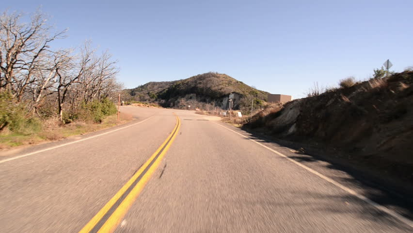 Driving Plates Mountains Canyon CAM1 Front 02 Forest California USA | Shutterstock HD Video #8497153
