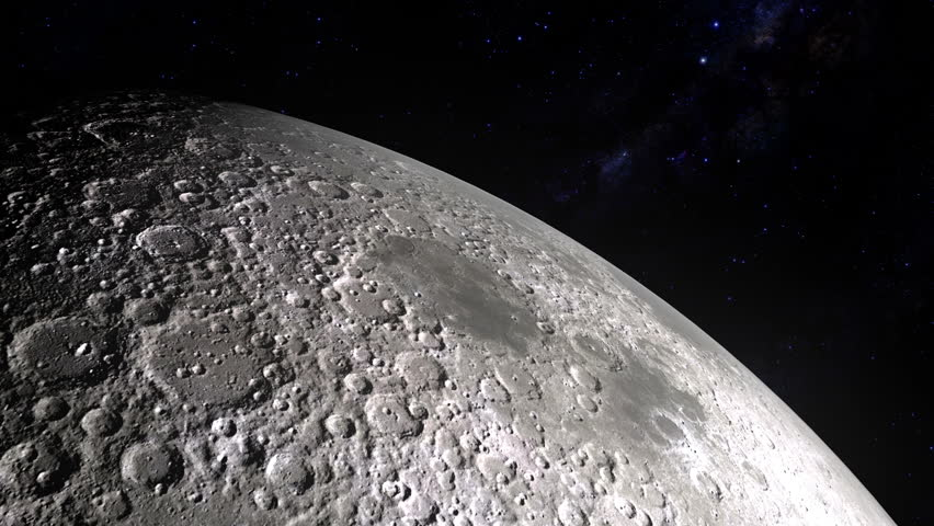 Moon close up stock footage video shutterstock - Moon close up ...