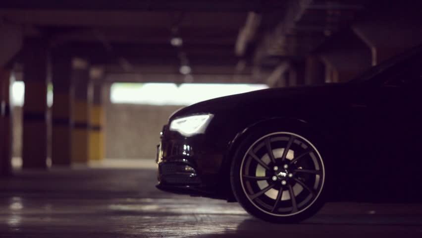 Audi Car Stock Footage Video Shutterstock - Audi car lot