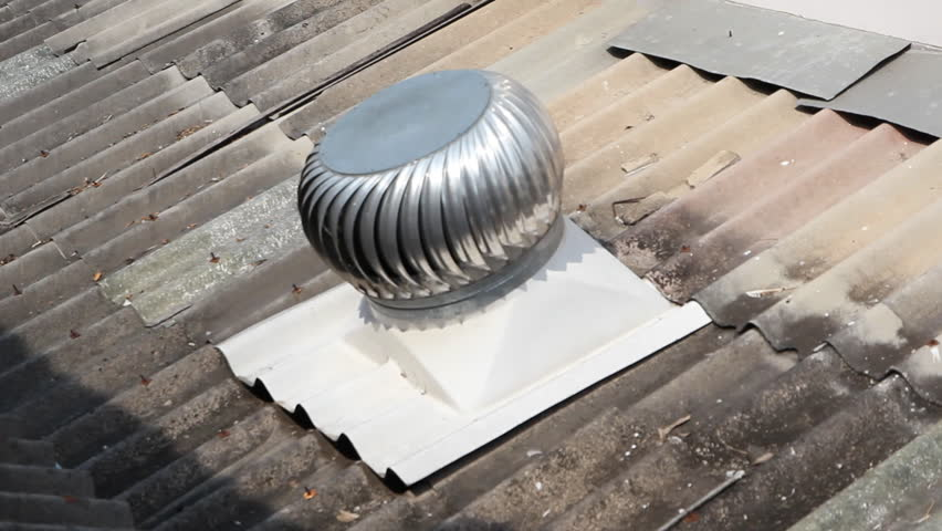 Ceiling fan in a tropical caribbean style building stock footage ball spin thermal roof hd stock video clip mozeypictures Image collections