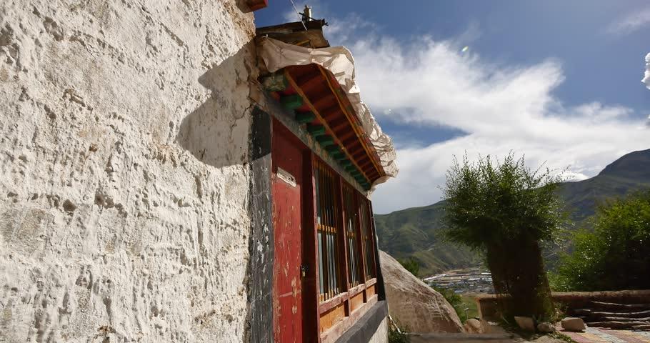 4k lhasa pabangka temple,Tibet. gh2_09071_4k