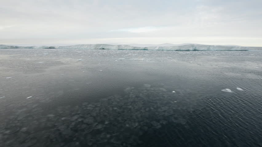 Navigation In Polar Seas Off Spitzberg Glaciers
