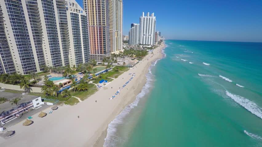 Drone video Sunny Isles Beach Florida 4k