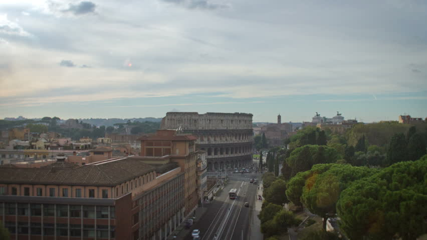 Colosseum Time Lapse Day to Night