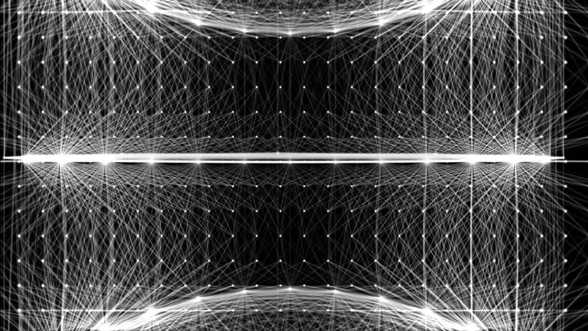 Lines And Shapes : Lighting threads vj loop a set of lines and shapes moving