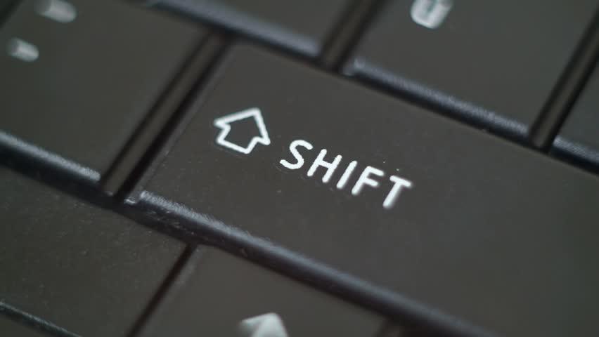 Button Black PC Keyboard Typing   #9008533