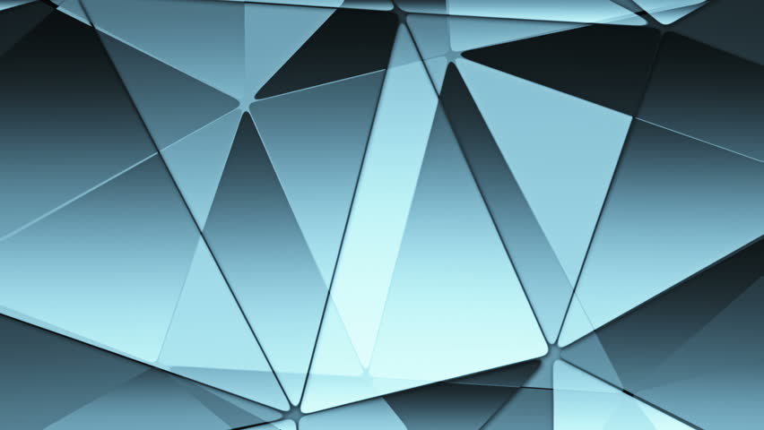 Abstract background of polygonal glassed figures. Animation of origami from triangles . Animation of seamless loop.  | Shutterstock HD Video #9072623