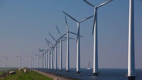 wind-turbine in the water