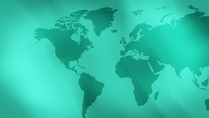 Floating continents on water animation combined with video of world map green abstract soft background 4k 4k stock video clip gumiabroncs Choice Image