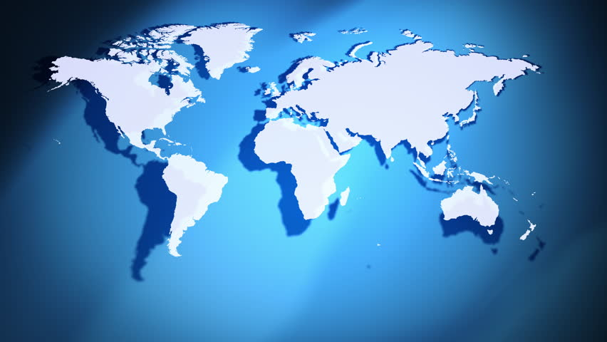 Stock video of digital world map animation seamless loop 3662219 digital world map animation seamless loo gumiabroncs Image collections