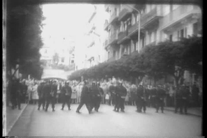 CIRCA 1960s - Images from the Algerian revolution in 1960