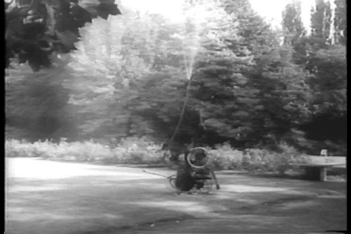 CIRCA 1960s - The work of French artist Jean Tinguely is highlighted in 1960