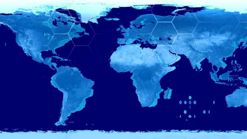 Digital map zoom france paris style 2 digital zoom paris a world map high tech digital satellite data view war room loop blue hd stock video gumiabroncs Choice Image