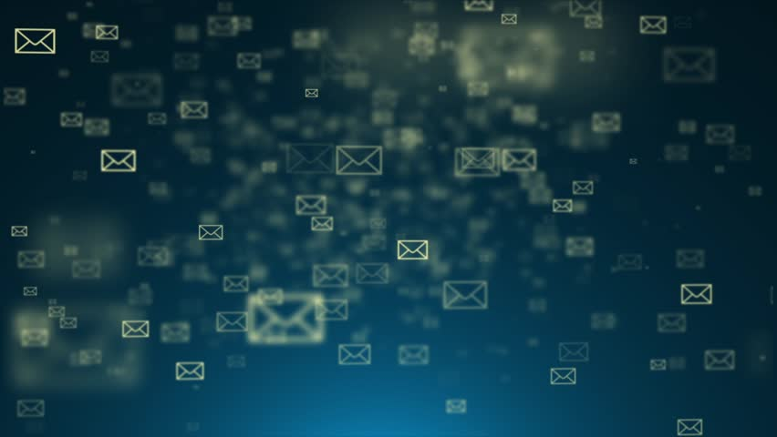 Background of the envelope e-mail. Many e-mai | Shutterstock HD Video #9251363
