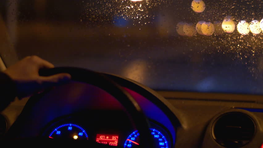 Vídeo Stock De The Man Drive Car Inside 100 Livre Direitos 9264713 Shutterstock