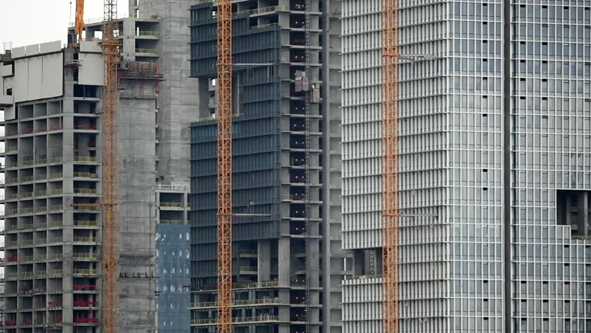 skyscraper construction details #9283283