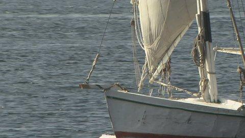 Felucca Sailing in Nile River