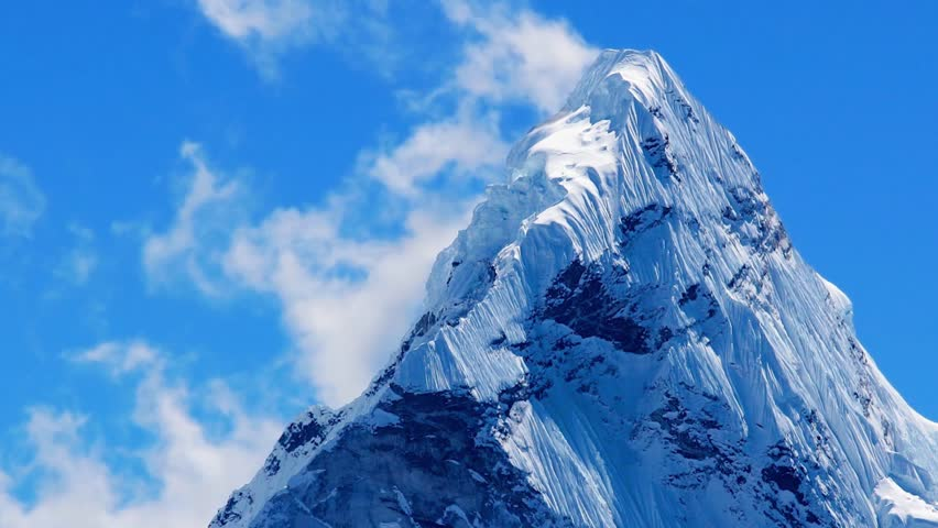 Mt  Ama Dablam in the Stock Footage Video (100% Royalty-free) 9389363 |  Shutterstock