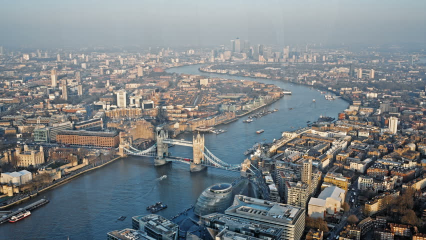 London's highest and best viewis situated at the top of The Shard, on floors 68, 69 and 72. At almost twice the height of any other viewing platform in the capital. | Shutterstock HD Video #9415313