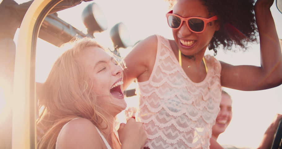 Afro Girl Laughing While Being Stock Footage Video (100% Royalty-free)  9426833 | Shutterstock