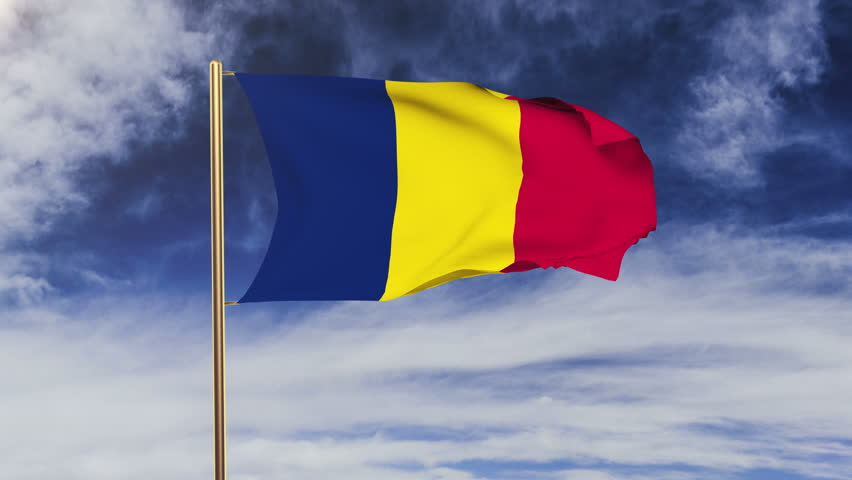 Chad Flag Stock Footage Video Shutterstock - Chad flag