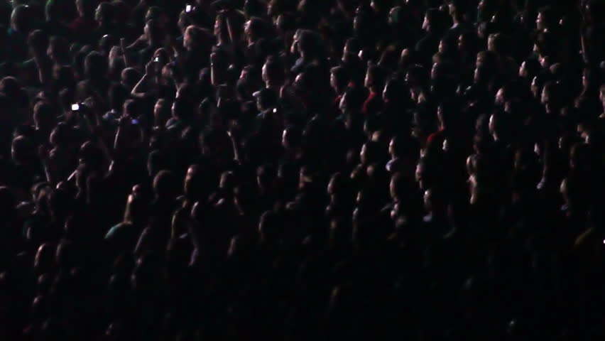 Cheering Crowd at Concert    Shutterstock HD Video #948343